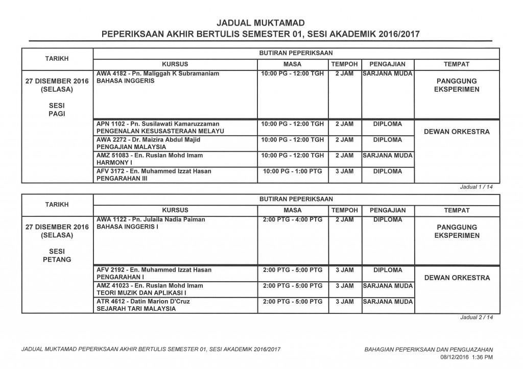 Jadual Muktamad Peperiksaan Akhir Diploma & Ijazah Sem 1 Sesi 20162017_Page_1